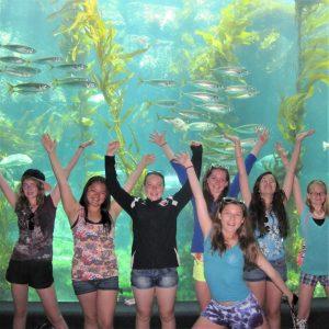 Birch Aquarium Visit