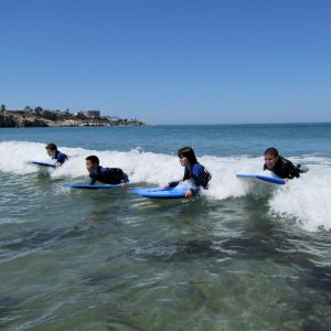 Boogie Boarding with SEACAMP