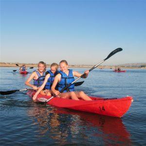 Kayaking on Mission Bay