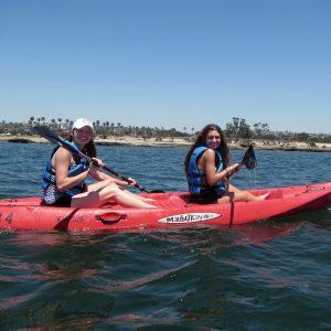 Kayaking with SEACAMP